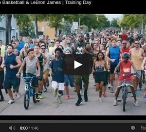LeBron James protagoniza el nuevo comercial de Nike