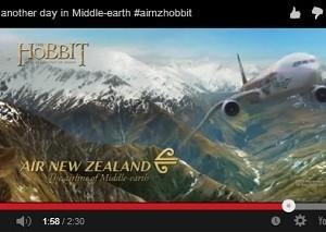 Vuelos muy al estilo de una historia épica en los aviones de Air New Zealand