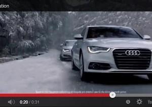 Audi y su muy agresiva campaña de navidad