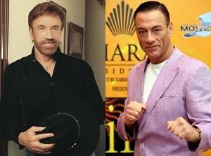 Chuck Norris vs Jean Claude Van Damme