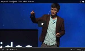 Conferencia de Andrés Barreto sobre cómo emprender sin experiencia, sin dinero y sin contactos