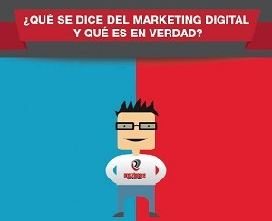 Realidades y mentiras sobre los profesionales del Marketing Digital (infografía)